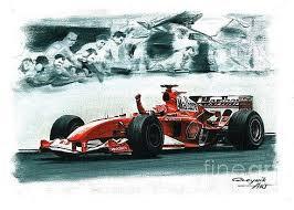 The f2004 is a highly successful formula one racing car that was used by ferrari for the 2004 formula one season. Artem Oleynik Artwork For Sale Kharkov Kharkov Ukraine Ferrari Racing Art F1 Art