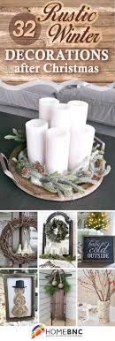 32 Wonderful Rustic Winter Decor Ideas that Still Work after Christmas