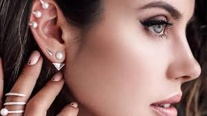 Facial Piercing Chart 15 Types Of Ear Piercings You Need To Know The Trend Spotter