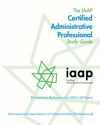 Administrative Professional Certificate Certification Iaap Main Site