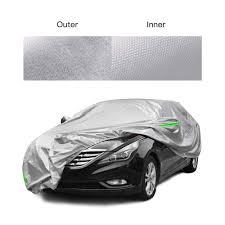 Light Proof Zipper Door Tecoom Ssd01 Breathable Material Door Shape Zipper Design Waterproof Uv Proof Windproof Car Cover With Storage And Lock For All Weather Indoor Outdoor