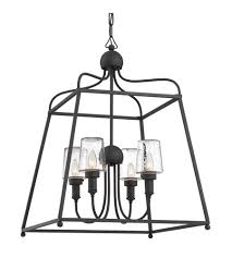 crystorama syl 2284 sd sylvan 4 light 22 inch black forged outdoor chandelier in seeded