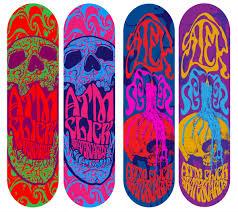 Skateboards Designs Atm Click Skateboards Richard Vaughan Graphic Design