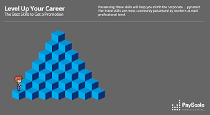 which job skills make the most money infographics payscale skills to land a promotion
