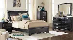 pics of bedroom furniture. belcourt black 5 pc queen upholstered bedroom pics of furniture
