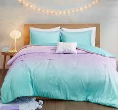 glimmer sparkles ombre comforter set