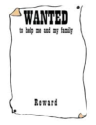 wanted photoshop template printable wanted poster template free templates and old west
