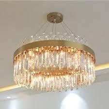 top 10 modern crystal living room chandelier light luxury atmosphere art round restaurant home led lamps
