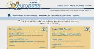 Europass Cover Letters Zoom English Eso4 Europass Cv Creative Cv Motivation Letter