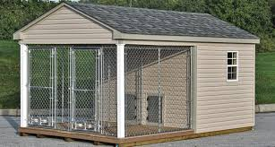 outdoor dog kennels for large dogs designs
