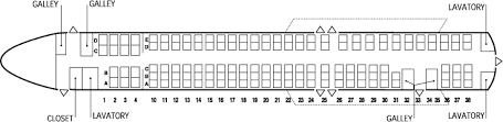 Md 90 Seating Chart Mcdonnell Douglas Md 88 Seating Chart