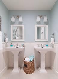 traditional bathroom lighting. beautiful bathroom glamorous kohler coralais towel bar convention san francisco traditional  bathroom decoration ideas with bathroom lighting mirror beadboard blue  to lighting p
