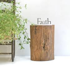 lovely tree stump end tables chairs photo 5