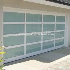 full view garage doorInspiration Glass Garage Doors Prices Modern Aluminum Frame Full