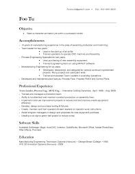 Assembly Worker Resume Sales Worker Lewesmr