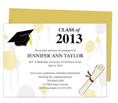 Graduation Announcements Template Printable Diy Templates For Grad Announcements Partytime