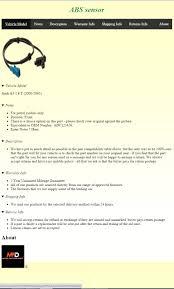 shipping info template entry 2 by omarelbasha for html ebay item description design motor