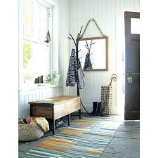 Coat Rack Bench With Mirror Awesome Crate And Barrel Wall Mirror Crate And Barrel Coat Rack Wall Mirror