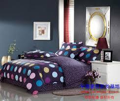 blue polka dot bedding set queen full size quilt duvet cover bedspreads bed in a bag