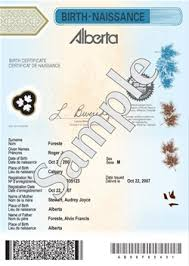 Birth / Marriage Certificates - Alberta : Lethbridge Vehicle ...