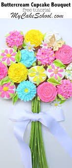 learn how to make a beautiful bouquet of ercream flowers in this mycake free