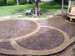 Circular Paving Patterns Unique Decorating Design