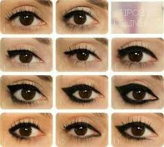 diffe types of cat eye makeup