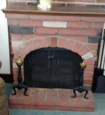 sears vintage electric fireplace faux brick for in donora pa