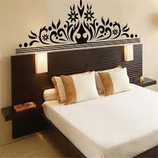 black striped flowers wallpaper for bedroom big vinyl striped wall stickers