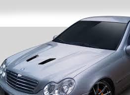 2001-2007 Mercedes C Class W203 Duraflex Black Series Look Hood 1 ...