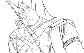 Assassins Creed Coloring Pages For Free Assassin Creed Coloring