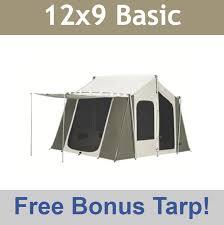 Kodiak Canvas Tent 6121 12 x 9 Cabin Style 6-Person All-Season Camping