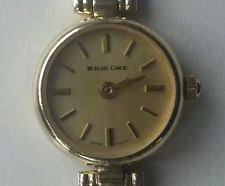 bueche girod wristwatches bueche girod lovely ladies gold wrist watch 9ct gold certificated