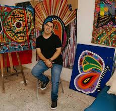 El artista plástico veracruzano Alan Téllez presenta su trabajo creativo en  arte utilitario | MÁSNOTICIAS