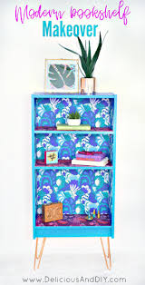 furniture makeover ideas. Create This Beautiful Makeover Using Removable Wallpaper And Hairpin Legs Transform Any Piece Of Furniture Ideas