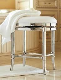 Vanity stools for bathrooms