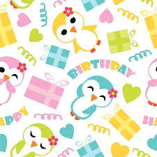 cute penguin pattern wallpaper. Beautiful Cute Seamless Pattern Of Cute Penguin Girls And Birthday Gift Boxes Vector  Cartoon Illustration For Wrapping Inside Cute Penguin Pattern Wallpaper T