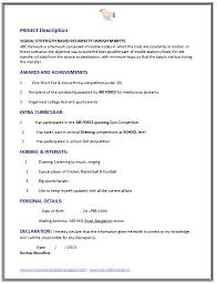 Fresher Computer Science Engineer Resume Sample (Page 2)