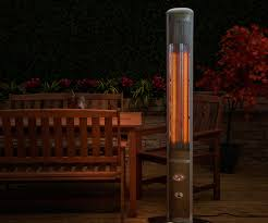 large size of impressive silver hanging electric patio heater as wells as slimline outdoor electric