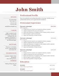New Resume Templates Pelosleclaire Com