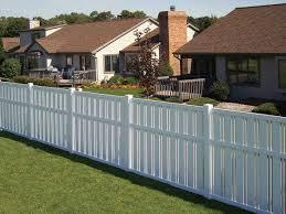 vinyl fence ideas. White Vinyl Fence Front Yard Ideas T