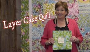 Layer Cake Quilt - Quilting Made Simple - YouTube &  Adamdwight.com