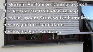 Rolladen Lamellen Austauschen Ohne Deckel Zu öffnen Option 2 Neubau Rollladen 9