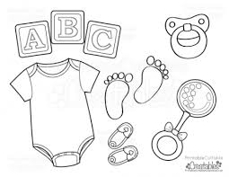 Small Picture Baby Items Coloring Pages Coloring Coloring Pages