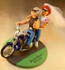 Harley Davidson Cake Decorations Wedding Cake Topper Of The Dayharley Davidson Cake Topper