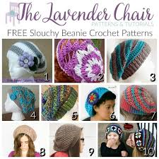 Hipster Beanie Crochet Pattern Delectable FREE Slouchy Beanie Crochet Patterns The Lavender Chair