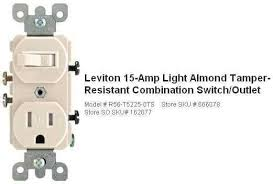 how to install wall outlet on a switch the home depot community leviton switch outlet combination wiring diagram at Switch Receptacle Combo Wiring Diagram