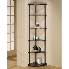 Furniture of America Corner 5-shelf Display Stand/Bookshelf | Hayneedle