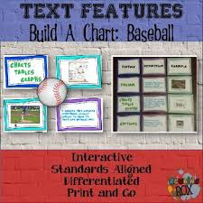 Text Features Task Cards Baseball