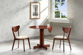 3 Piece Dining Set 3 Piece Dining Set 36 Drop Leaf Table With Two Chairs All Cherry
